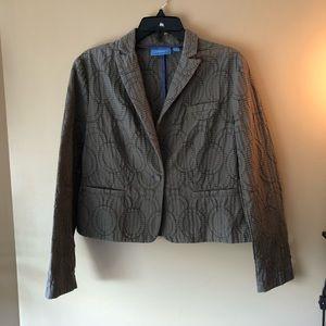 Button down blazer/ suit jacket